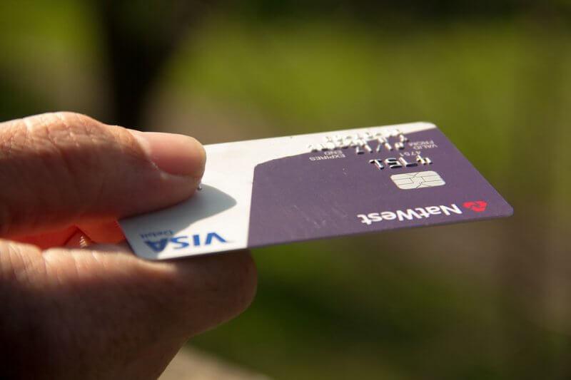 gebruik creditcard